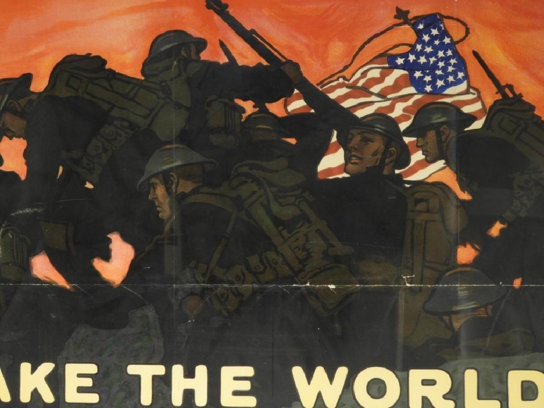 LG Herbert Paus World War I Liberty Loans Poster - 2