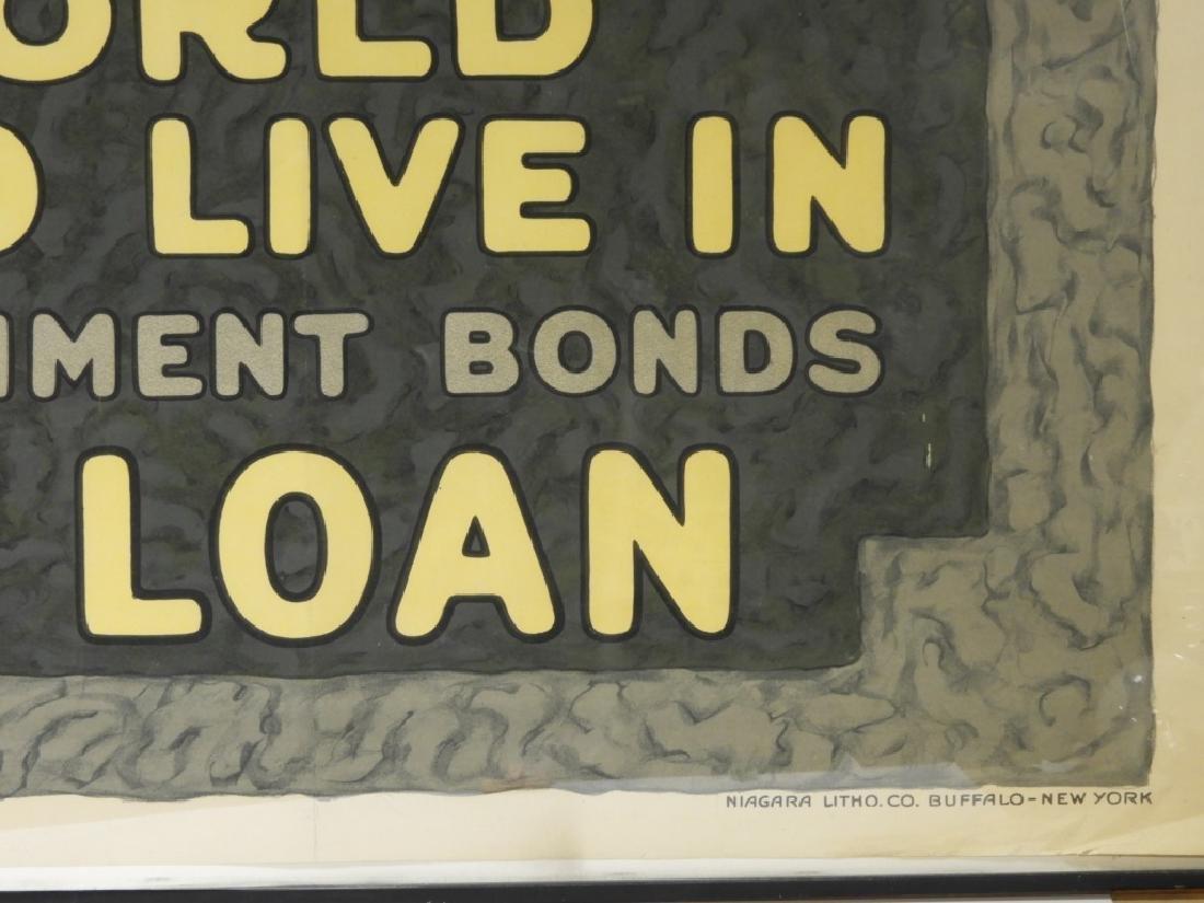 LG Herbert Paus World War I Liberty Loans Poster - 4