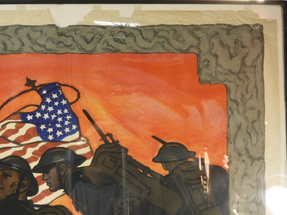 LG Herbert Paus World War I Liberty Loans Poster - 5