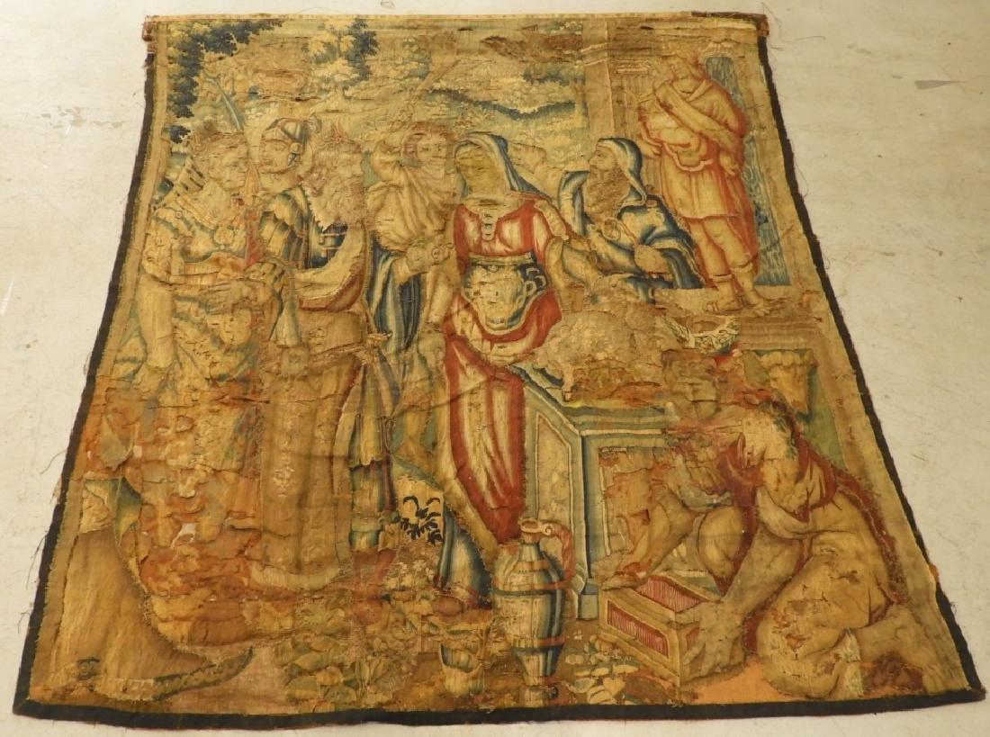 Northwest European Allegorical Reubens Tapestry