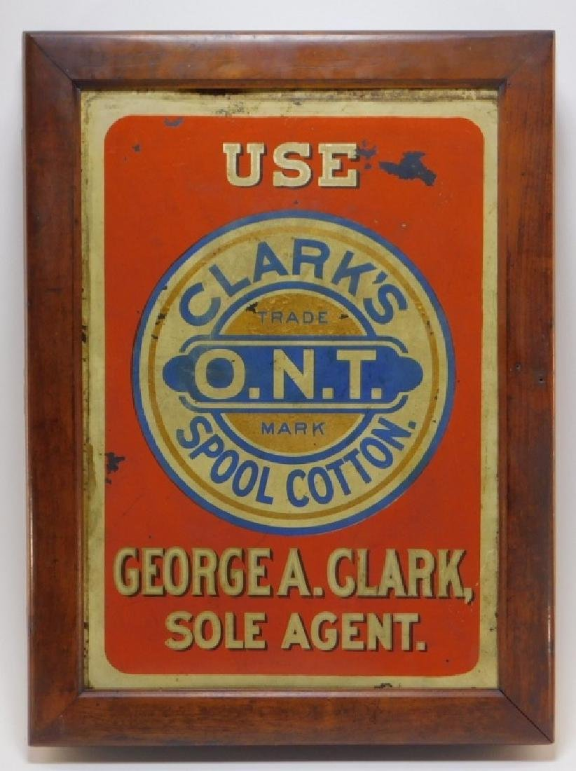 Clarks Spool Cotton Wall Thread Cabinet