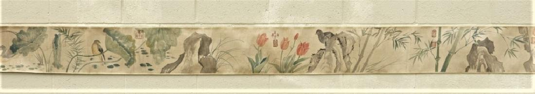 Chinese Zhimian Zhou Ming Dynasty Scroll Painting - 2