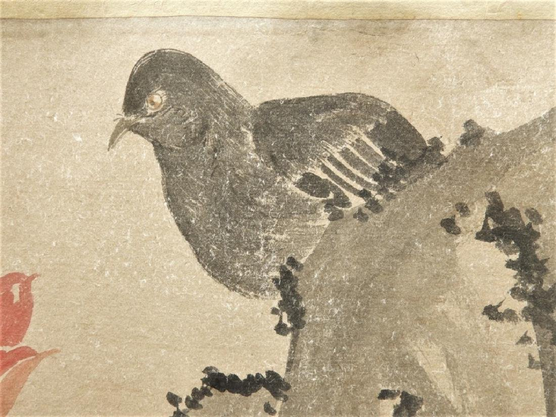 Chinese Zhimian Zhou Ming Dynasty Scroll Painting - 4