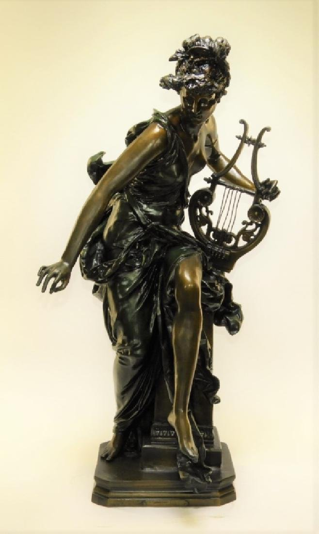 19C. French Neoclassical Bronze Aft. Belleuse