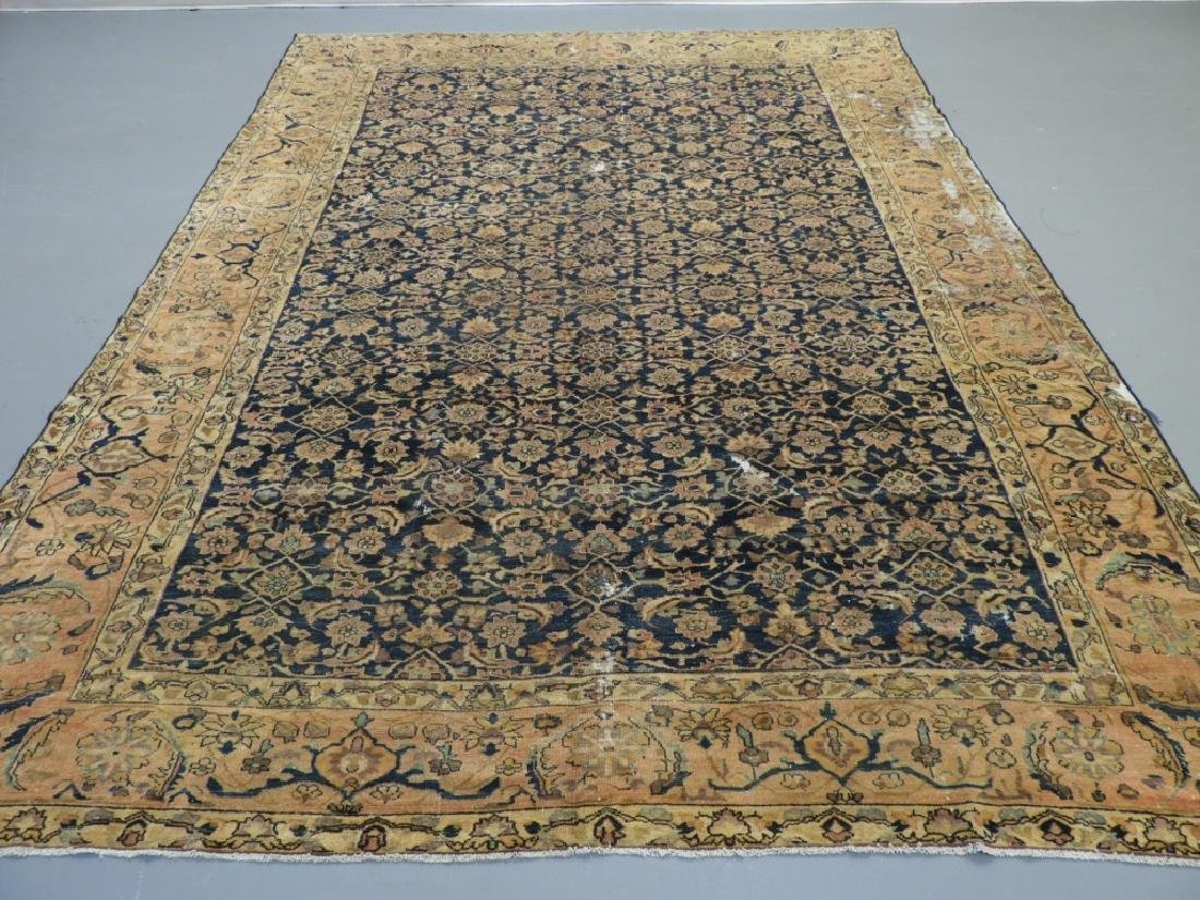 Antique Oriental Persian Wool Carpet Rug