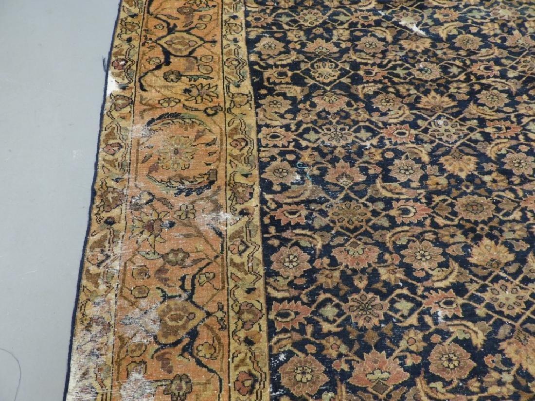 Antique Oriental Persian Wool Carpet Rug - 4