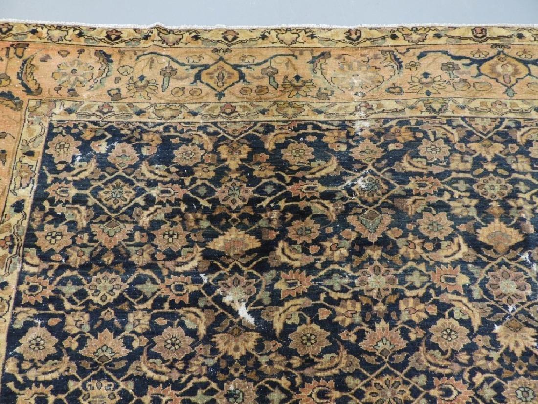 Antique Oriental Persian Wool Carpet Rug - 5