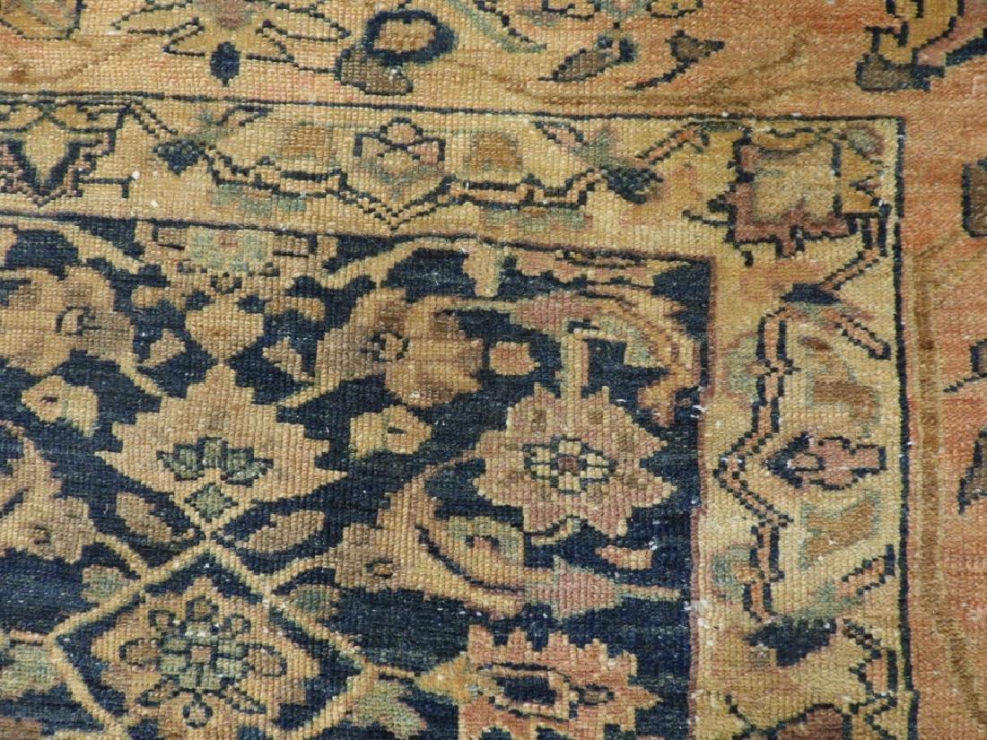 Antique Oriental Persian Wool Carpet Rug - 7