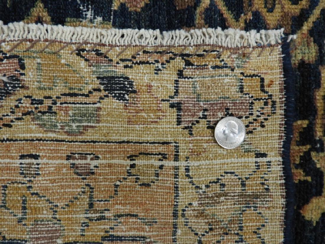 Antique Oriental Persian Wool Carpet Rug - 8