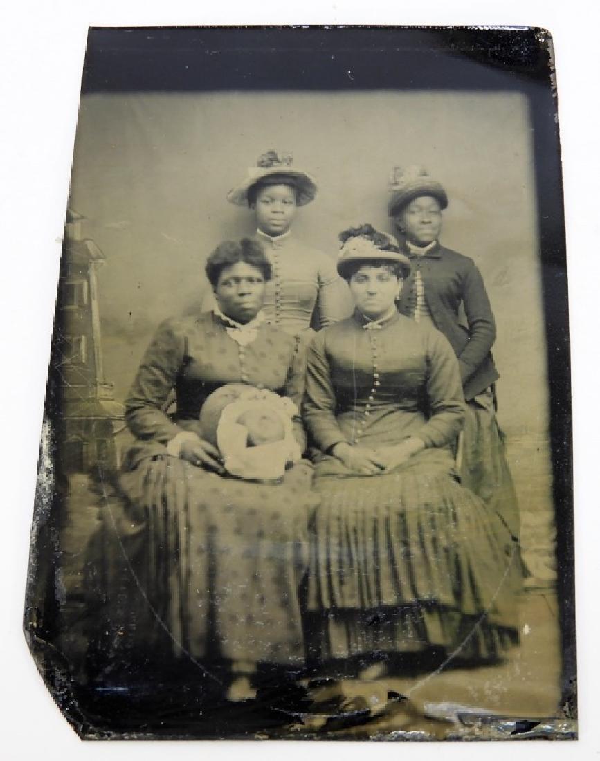 6 19C. Black Americana Tintype Photographs - 3