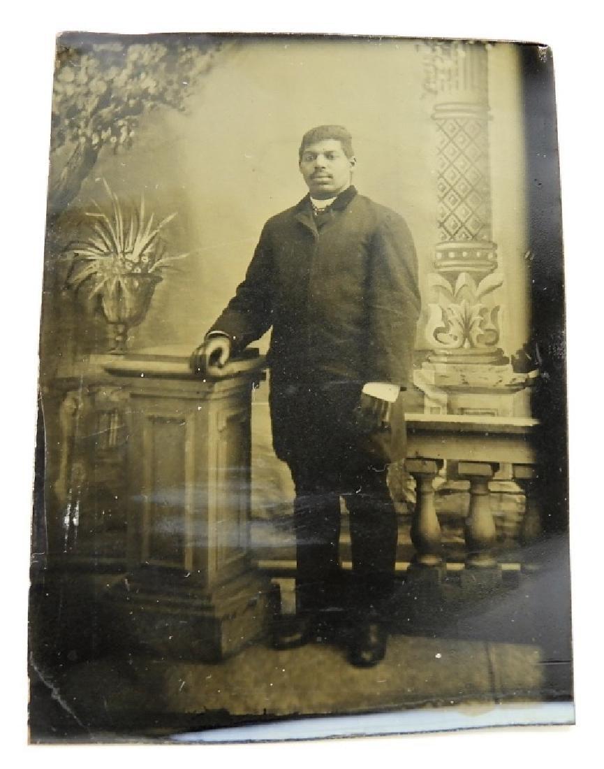 6 19C. Black Americana Tintype Photographs - 4