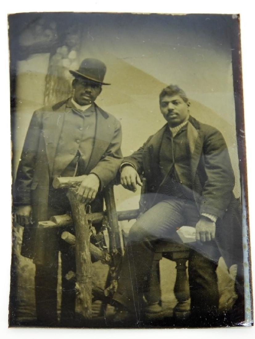 6 19C. Black Americana Tintype Photographs - 7