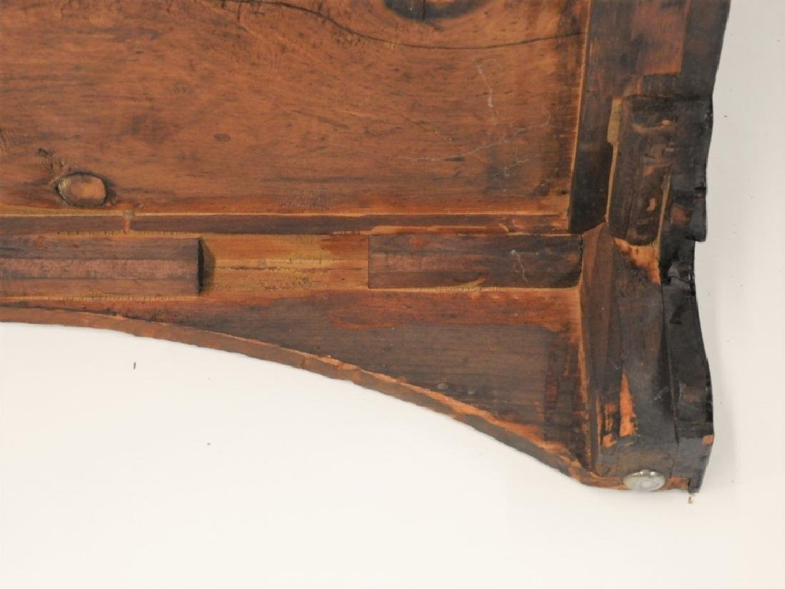 18C Boston Chippendale Cherry Four Draw Chest - 10