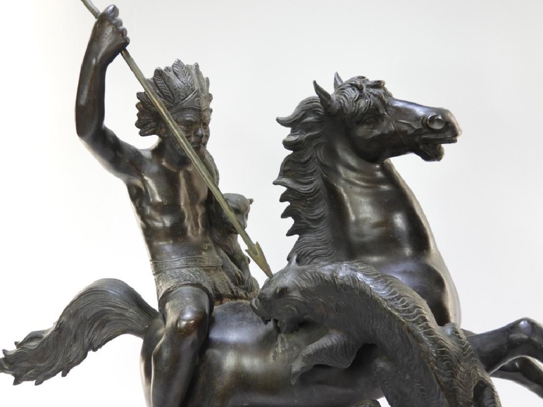 Tommaso Campajola Bronze Sculpture of Warrior - 2