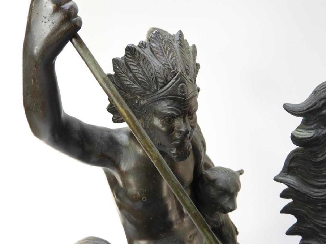 Tommaso Campajola Bronze Sculpture of Warrior - 3