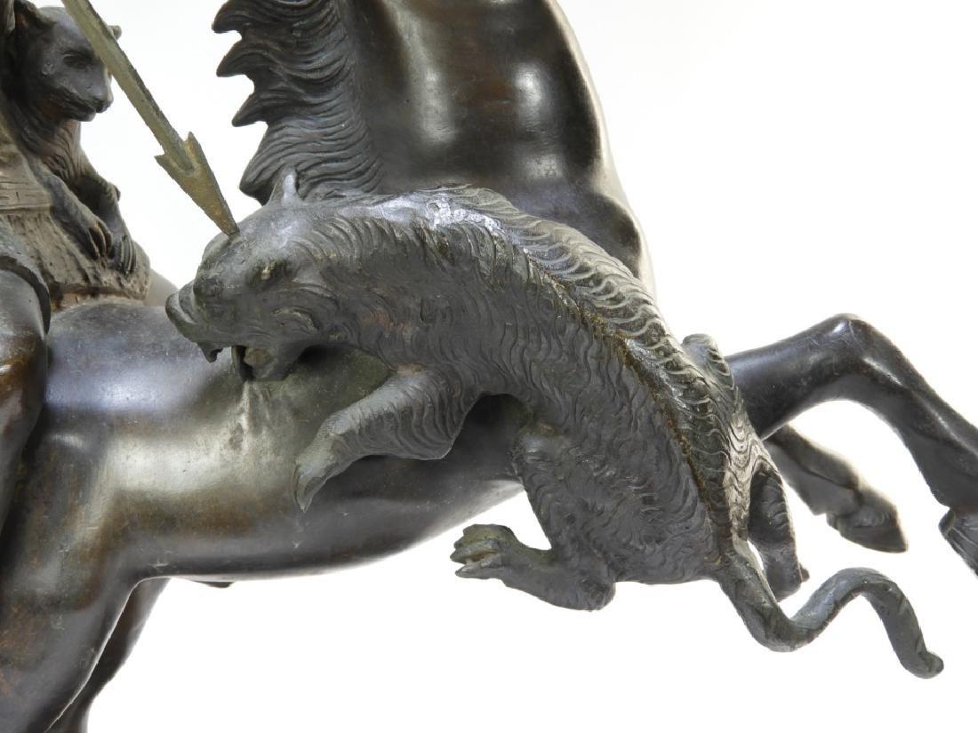 Tommaso Campajola Bronze Sculpture of Warrior - 5