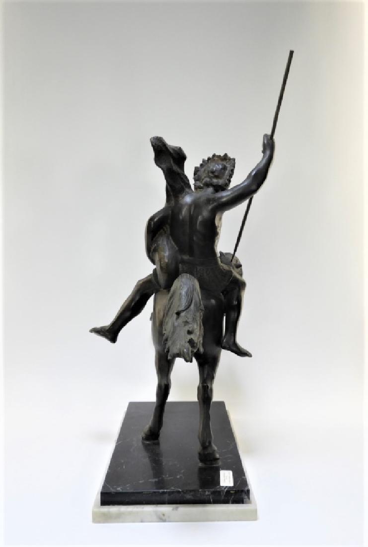 Tommaso Campajola Bronze Sculpture of Warrior - 6