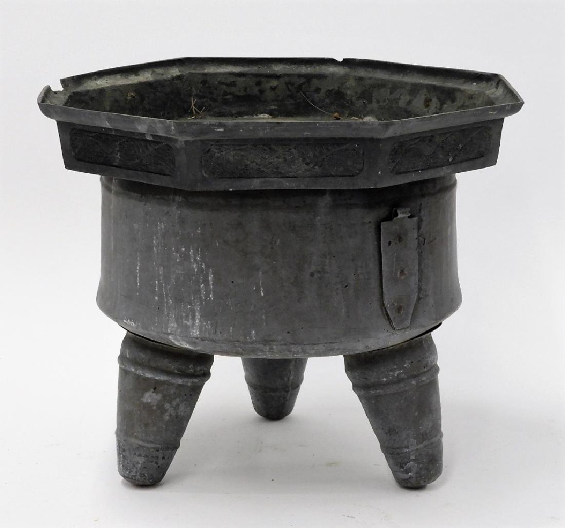 Chinese Paktong Ceremonial Temple Censer