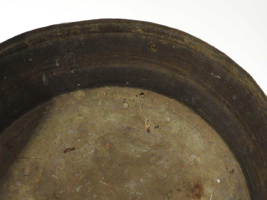 Chinese Paktong Ceremonial Temple Censer - 8