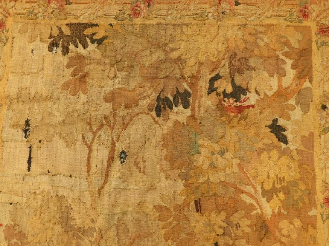 17C. French Scenic Wall Hanging Tapestry Textile - 4