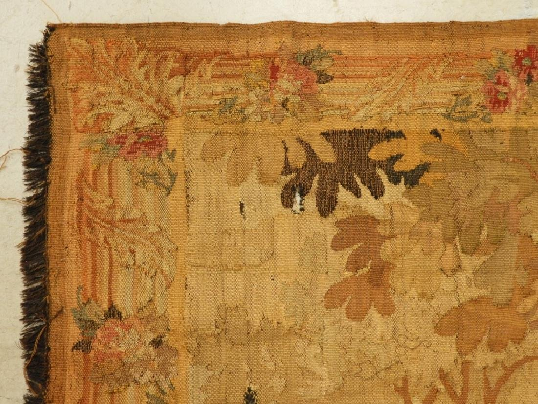 17C. French Scenic Wall Hanging Tapestry Textile - 5