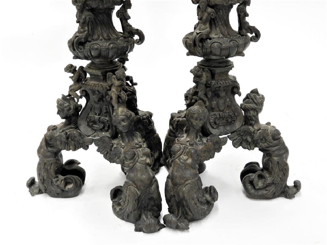 PR Italian Grand Tour Cast Iron Garden Statuary - 3