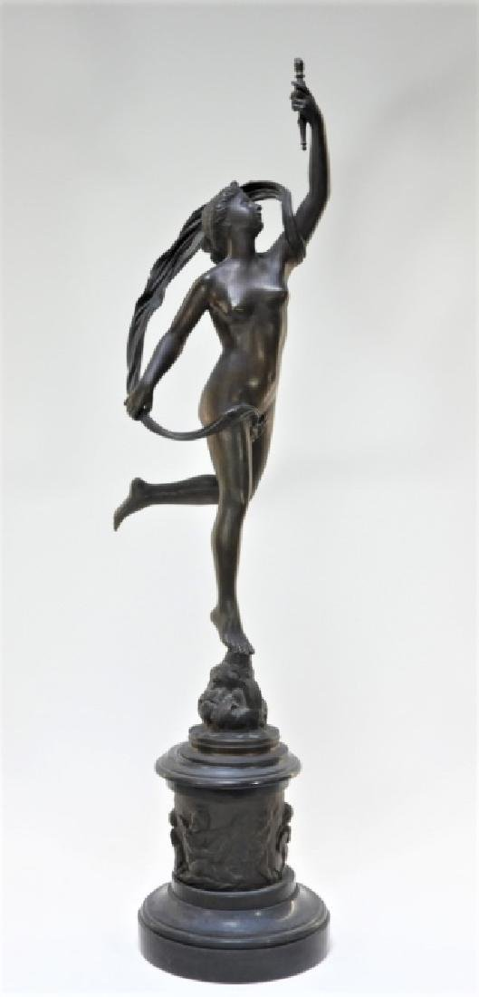 19C European Grand Tour Bronze Sculpture of Venus