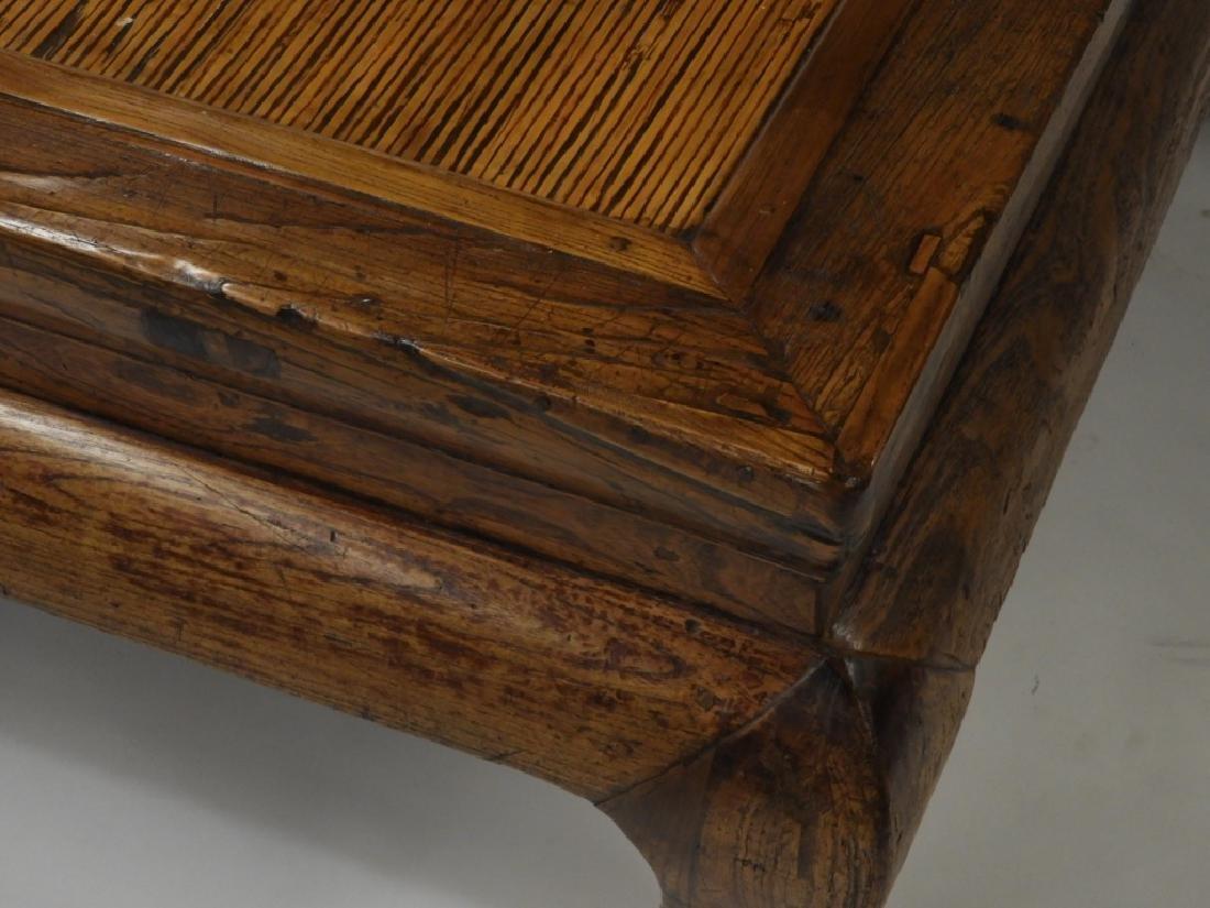 Chinese Carved Hardwood Kang Bed - 4