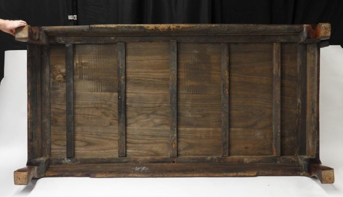 Chinese Carved Hardwood Kang Bed - 6