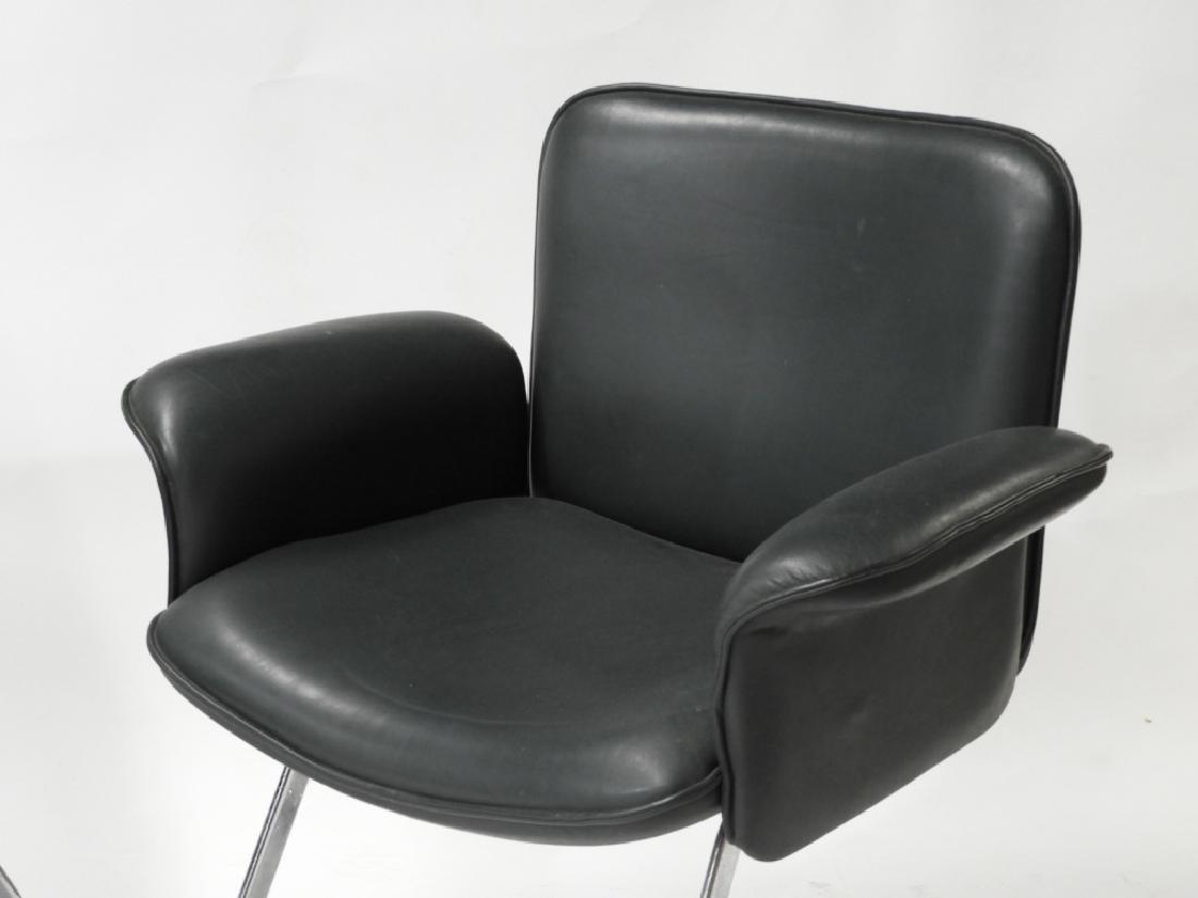 PR Neinkamper Tubular Chrome MCM Arm Chairs - 2