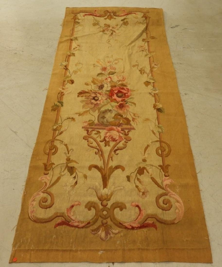 18C French Aubusson Hanging Panel Tapestry Textile