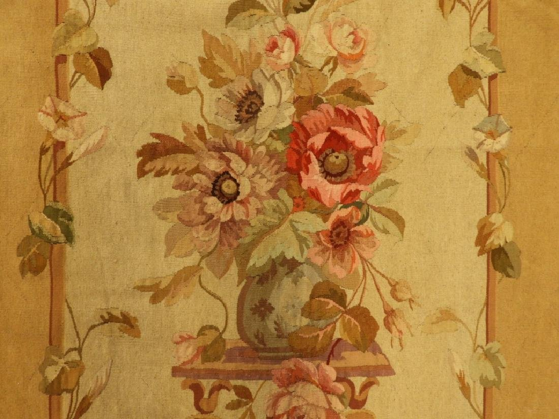 18C French Aubusson Hanging Panel Tapestry Textile - 2