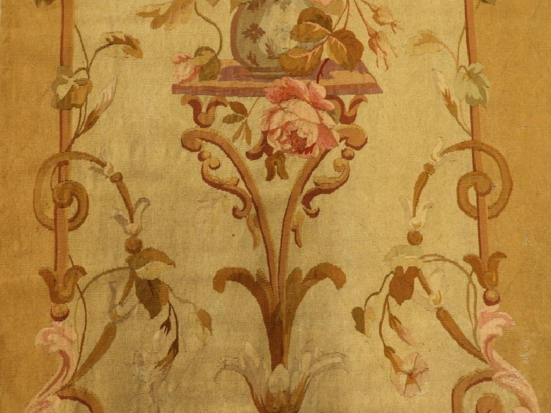 18C French Aubusson Hanging Panel Tapestry Textile - 3
