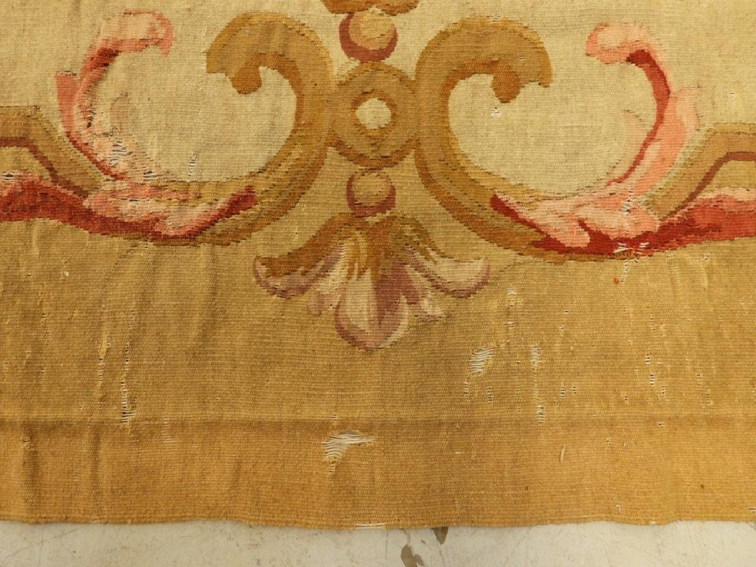 18C French Aubusson Hanging Panel Tapestry Textile - 4