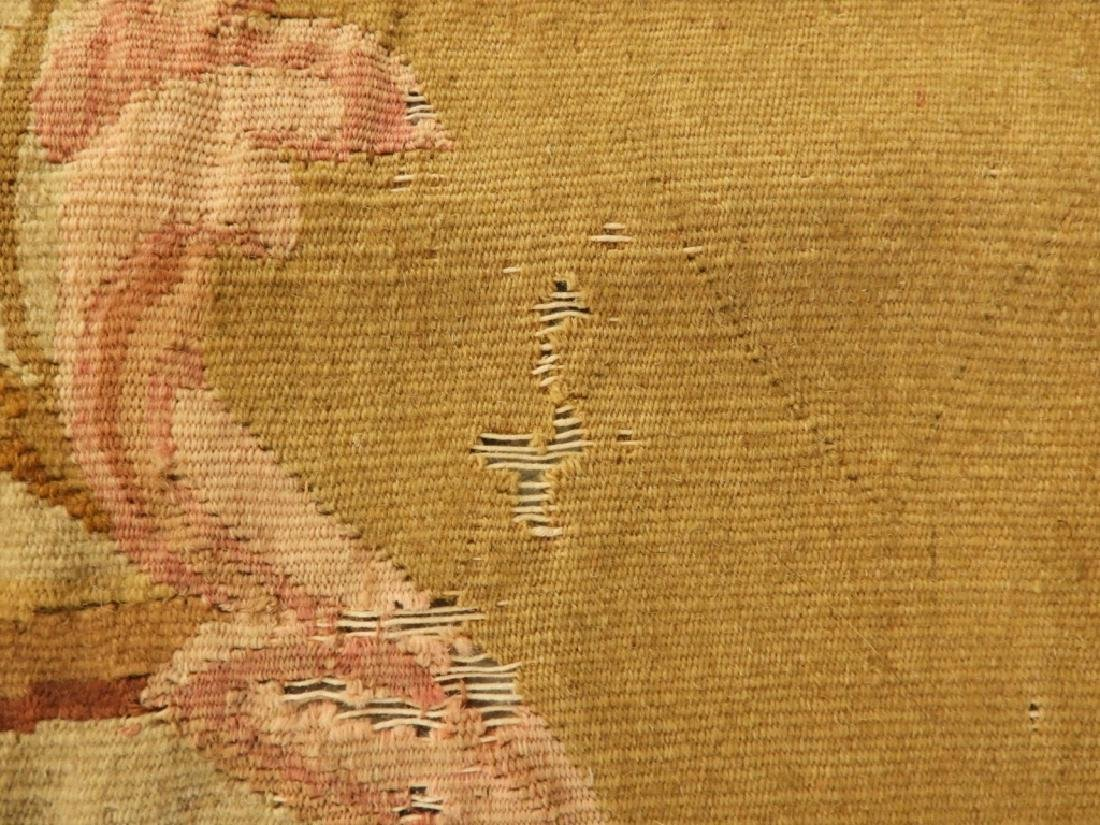 18C French Aubusson Hanging Panel Tapestry Textile - 6