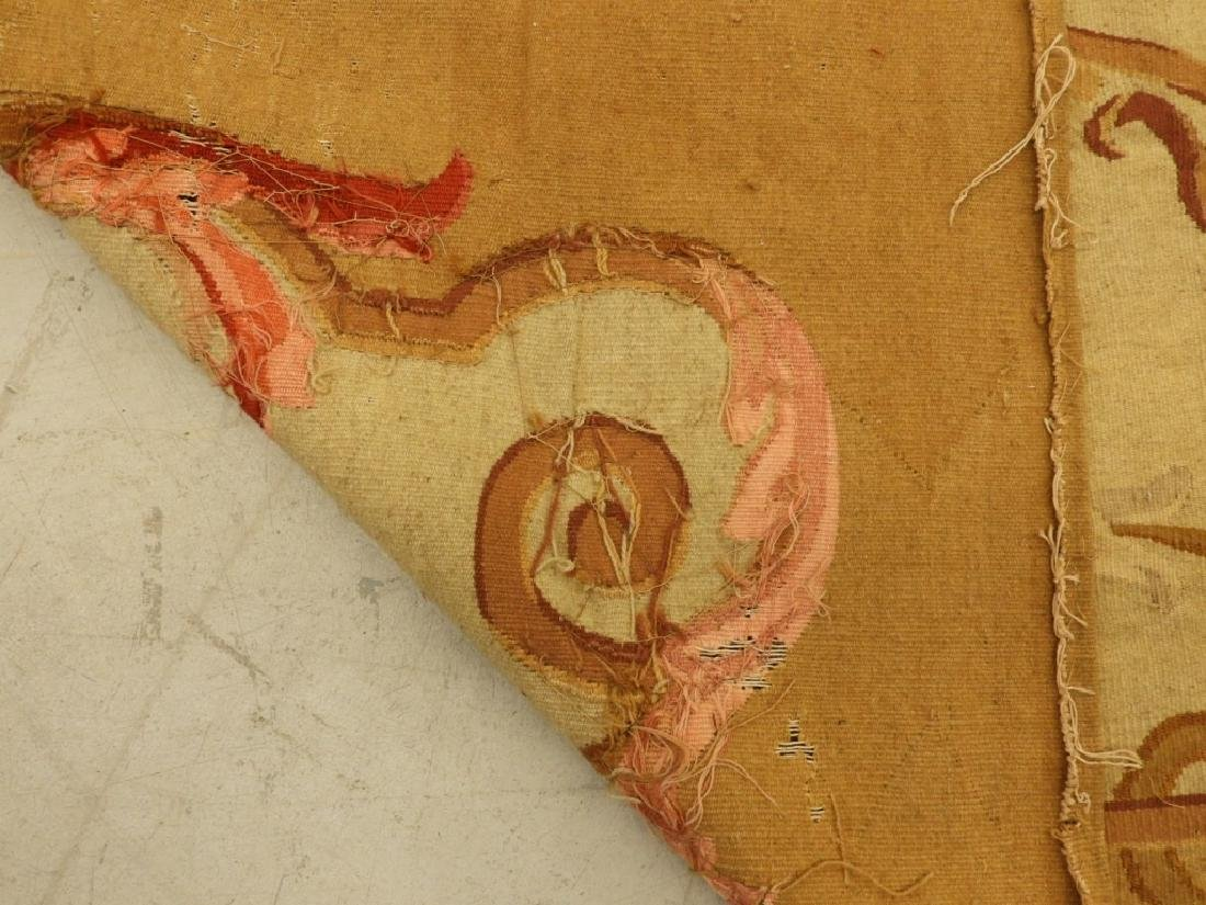 18C French Aubusson Hanging Panel Tapestry Textile - 8
