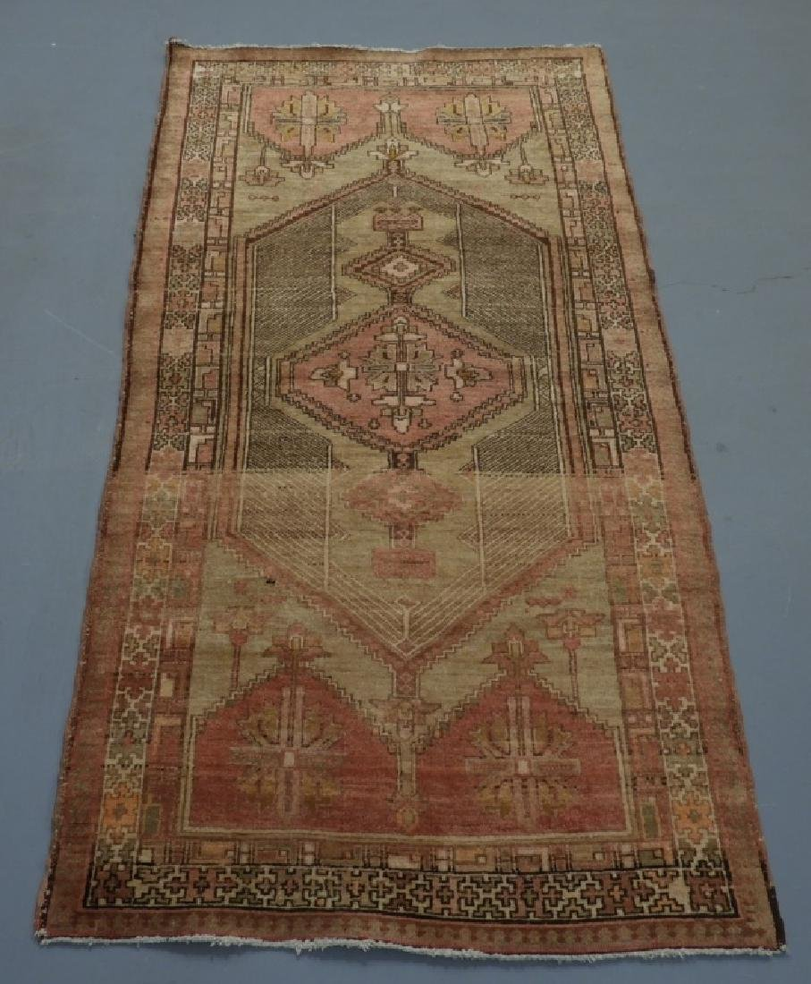 Oriental Persian Seraband Wool Carpet Rug Runner