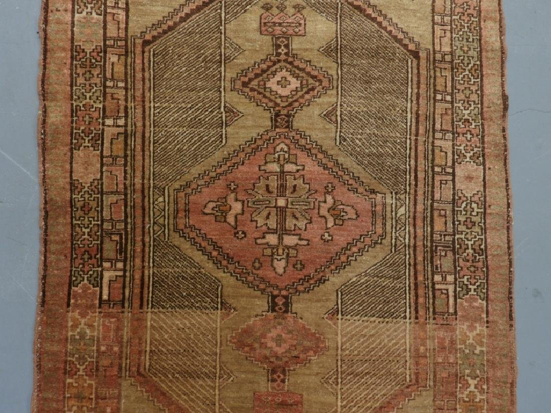 Oriental Persian Seraband Wool Carpet Rug Runner - 2