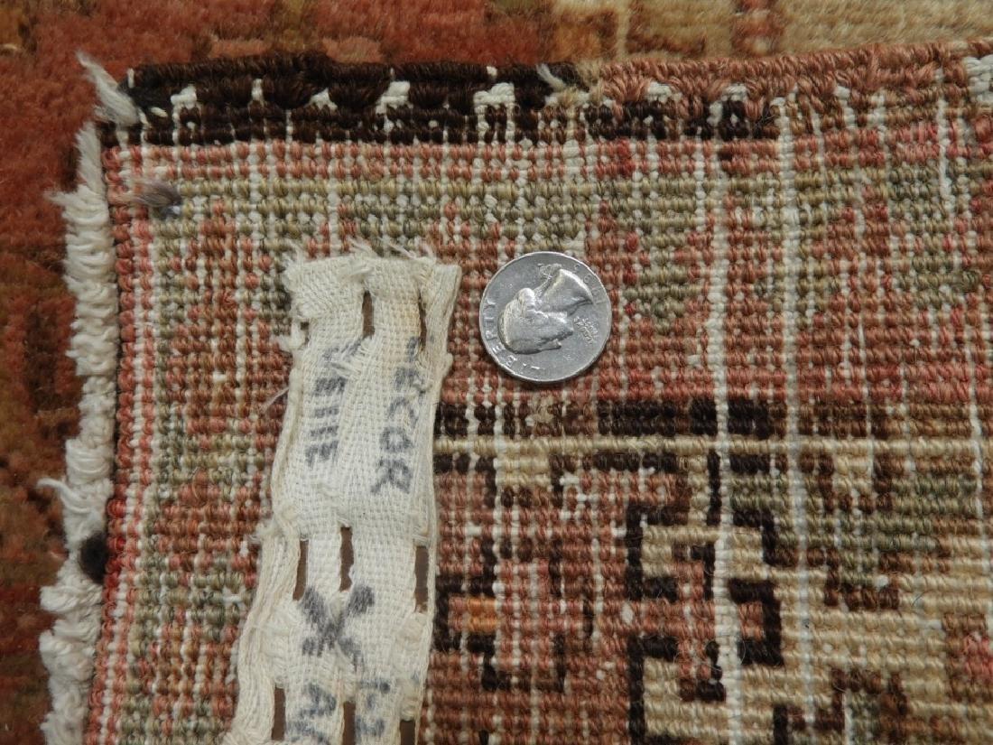 Oriental Persian Seraband Wool Carpet Rug Runner - 8