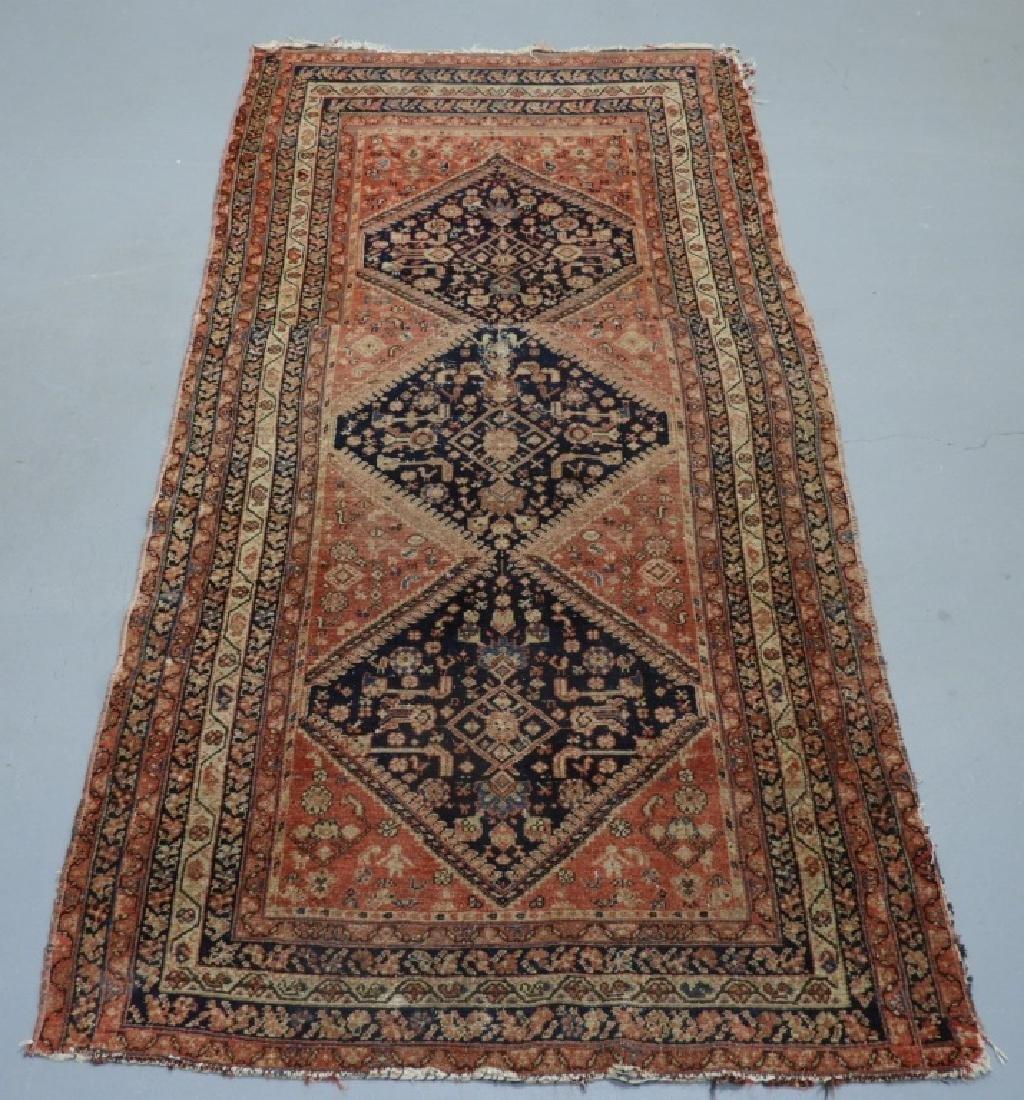 Oriental Persian Tribal Wool Carpet Rug Runner