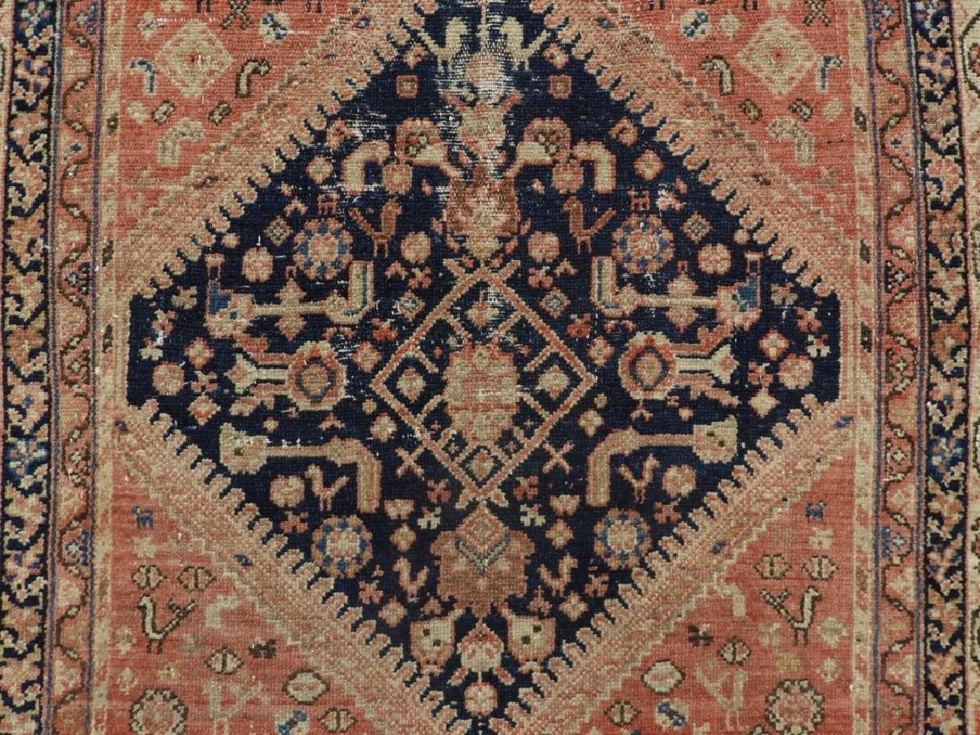 Oriental Persian Tribal Wool Carpet Rug Runner - 2
