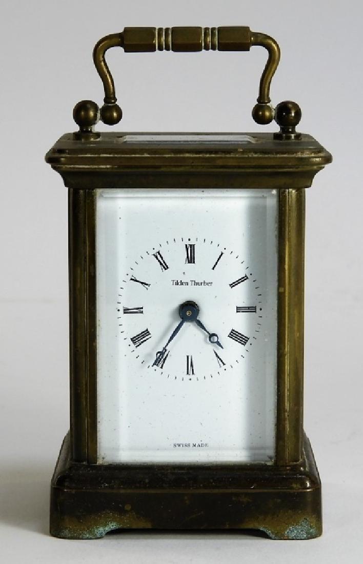 Matthew Norman Diminutive Brass Carriage Clock