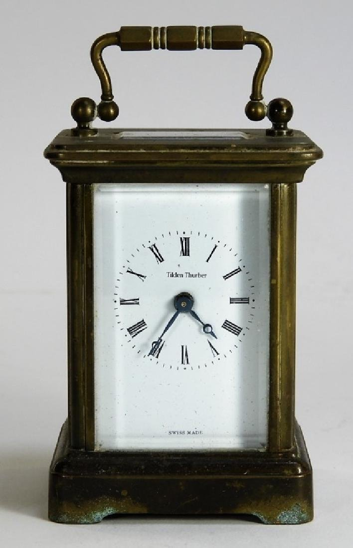Matthew Norman Diminutive Brass Carriage Clock