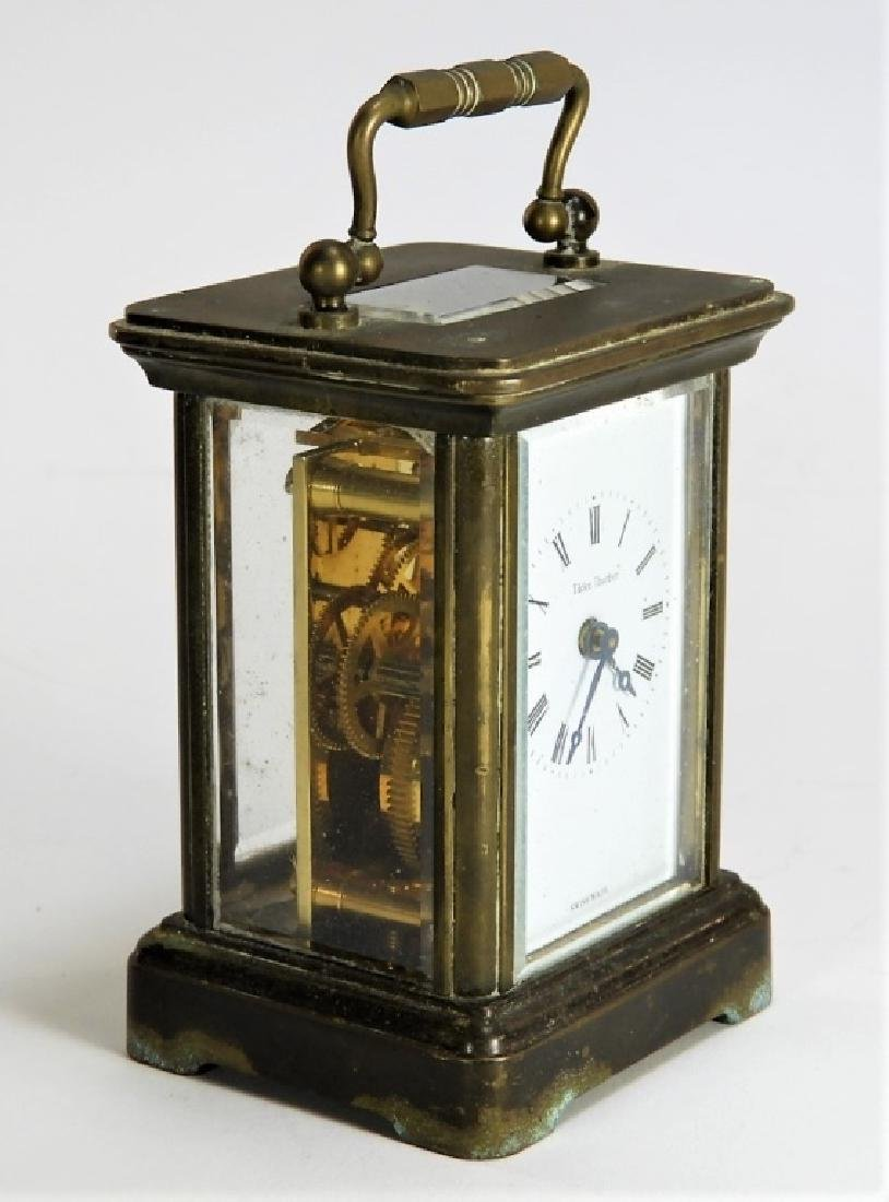 Matthew Norman Diminutive Brass Carriage Clock - 3