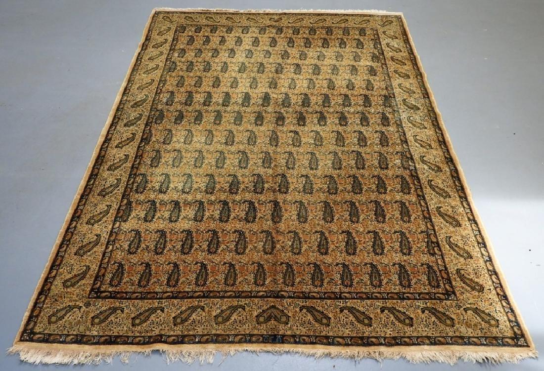Oriental Persian Paisley Wool Cotton Carpet Rug