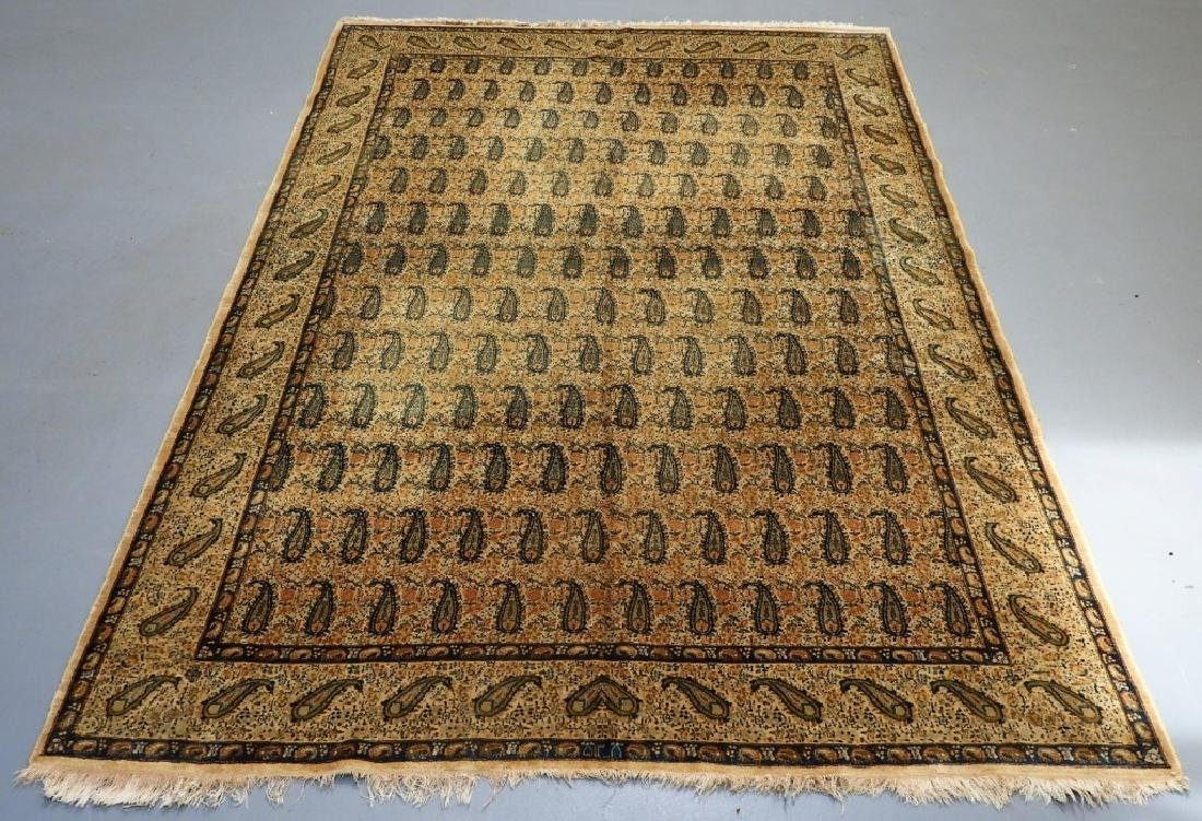 Oriental Persian Paisley Wool Cotton Carpet Rug