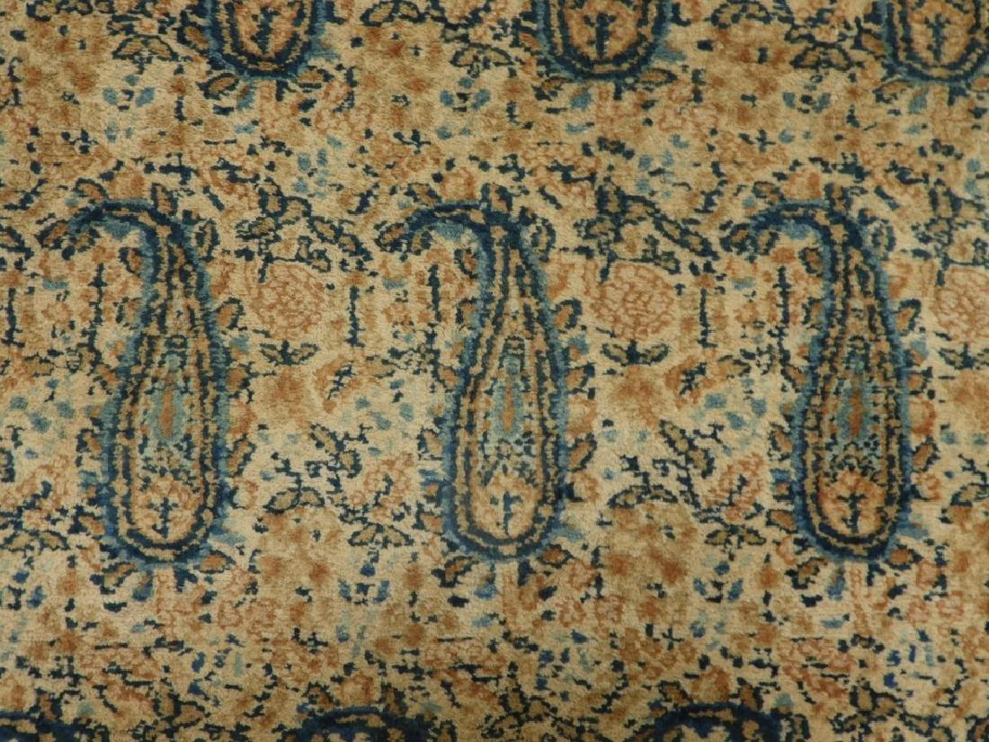 Oriental Persian Paisley Wool Cotton Carpet Rug - 3