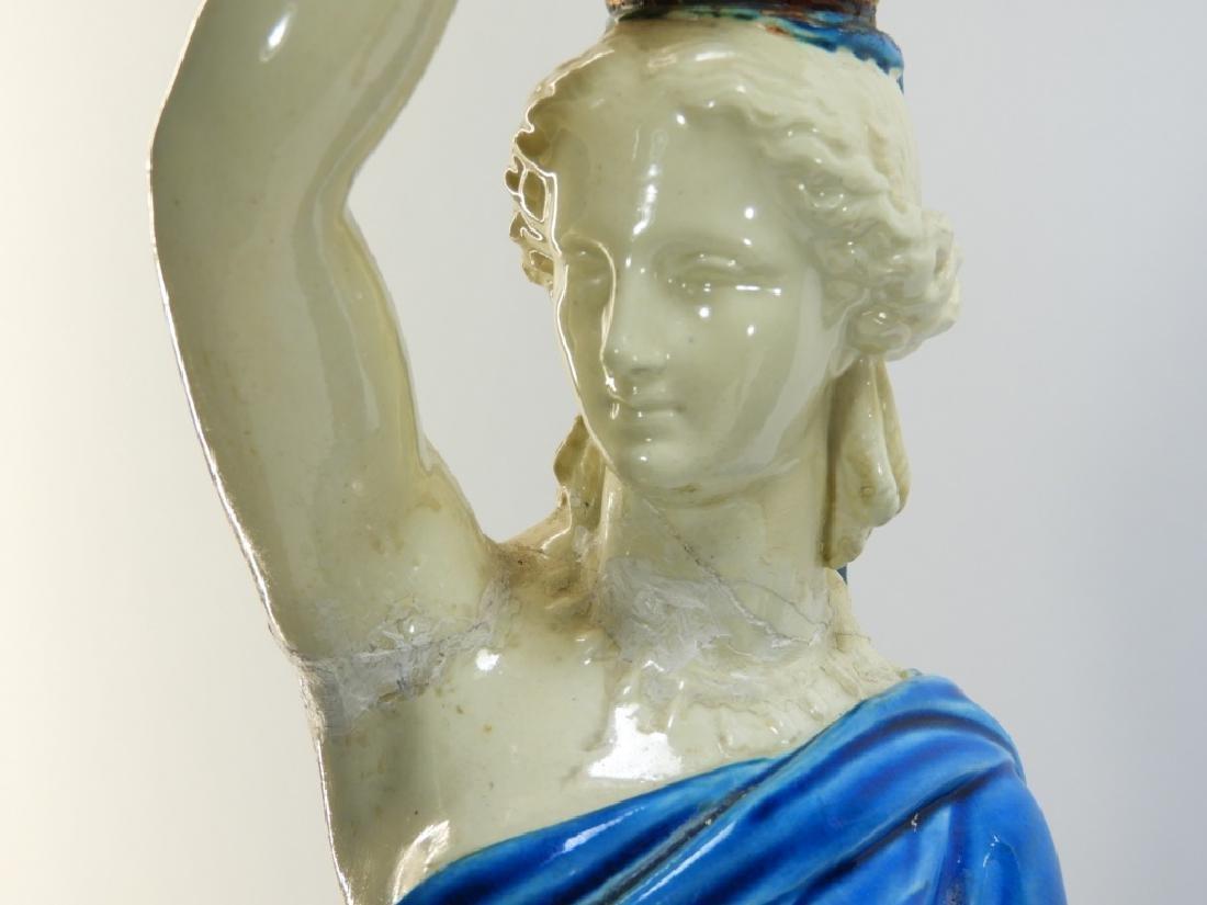 PR. Royal Worcester Porcelain Greek Female Figure - 3