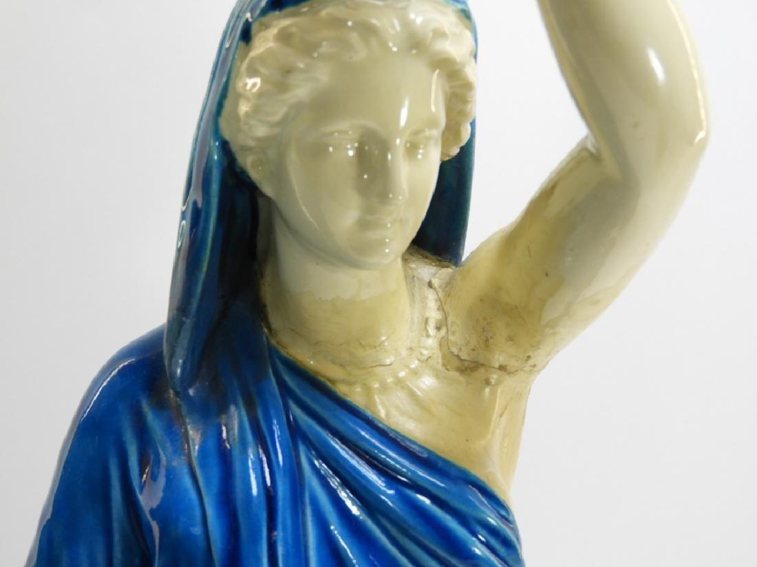 PR. Royal Worcester Porcelain Greek Female Figure - 4