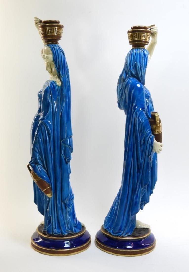 PR. Royal Worcester Porcelain Greek Female Figure - 7